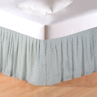 Amherst Blue Queen Bed Skirt