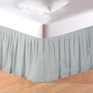 Amherst Blue Queen Bed Skirt