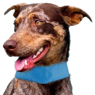 Pet Life Summer-Cooling' Insert Able And Adjustable Cooling Ice Pack Dog Neck Wrap