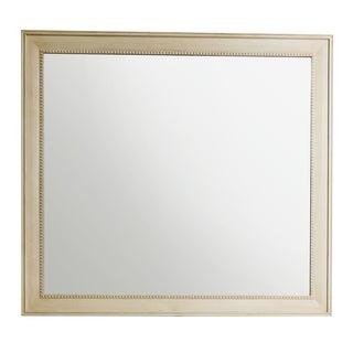 """Bristol 44"""" Rectangular Mirror, Vintage Vanilla - Off White"""