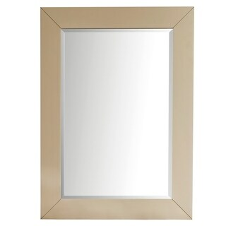 "Weston 40"" Rectangular Mirror, Cottage White"