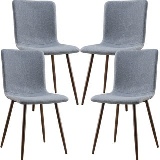 Wadsworth Dining Chair with Walnut Legs (Set of 4)