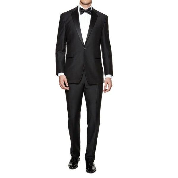 e26105de0a1 Shop Braveman Men's Slim Fit Tuxedo - Free Shipping Today - Overstock -  17433984