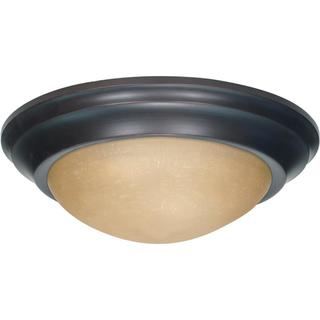 "Nuvo 3 Light 17"" Flush Mount"