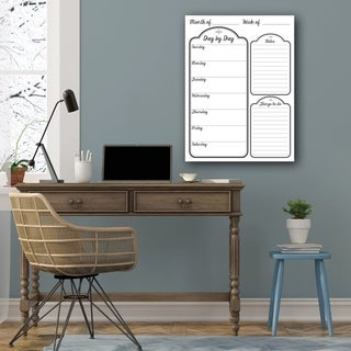 R2H Methods 'Day by Day' Dry Erase Daily Planner on ArtPlexi