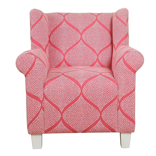 HomePop Kids\' Accent Chair - Strawberry - Free Shipping Today ...