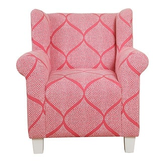 HomePop Kids' Accent Chair - Strawberry