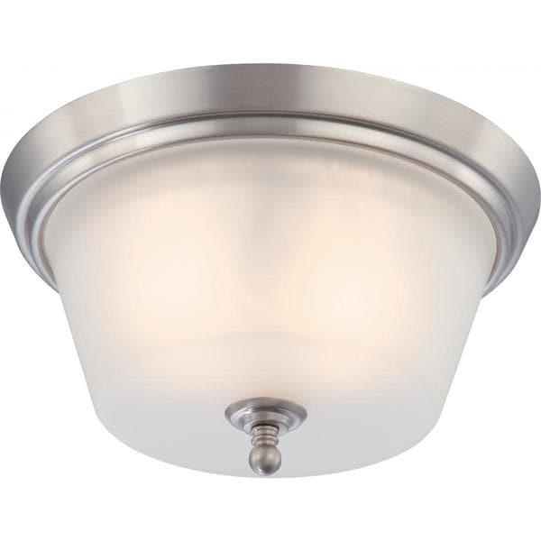 Nuvo Surrey 2 Light Flush Dome