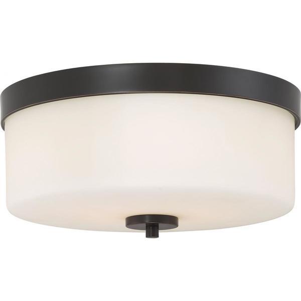 Light Fixtures Denver: Shop Nuvo Denver 2 Light Flush Mount