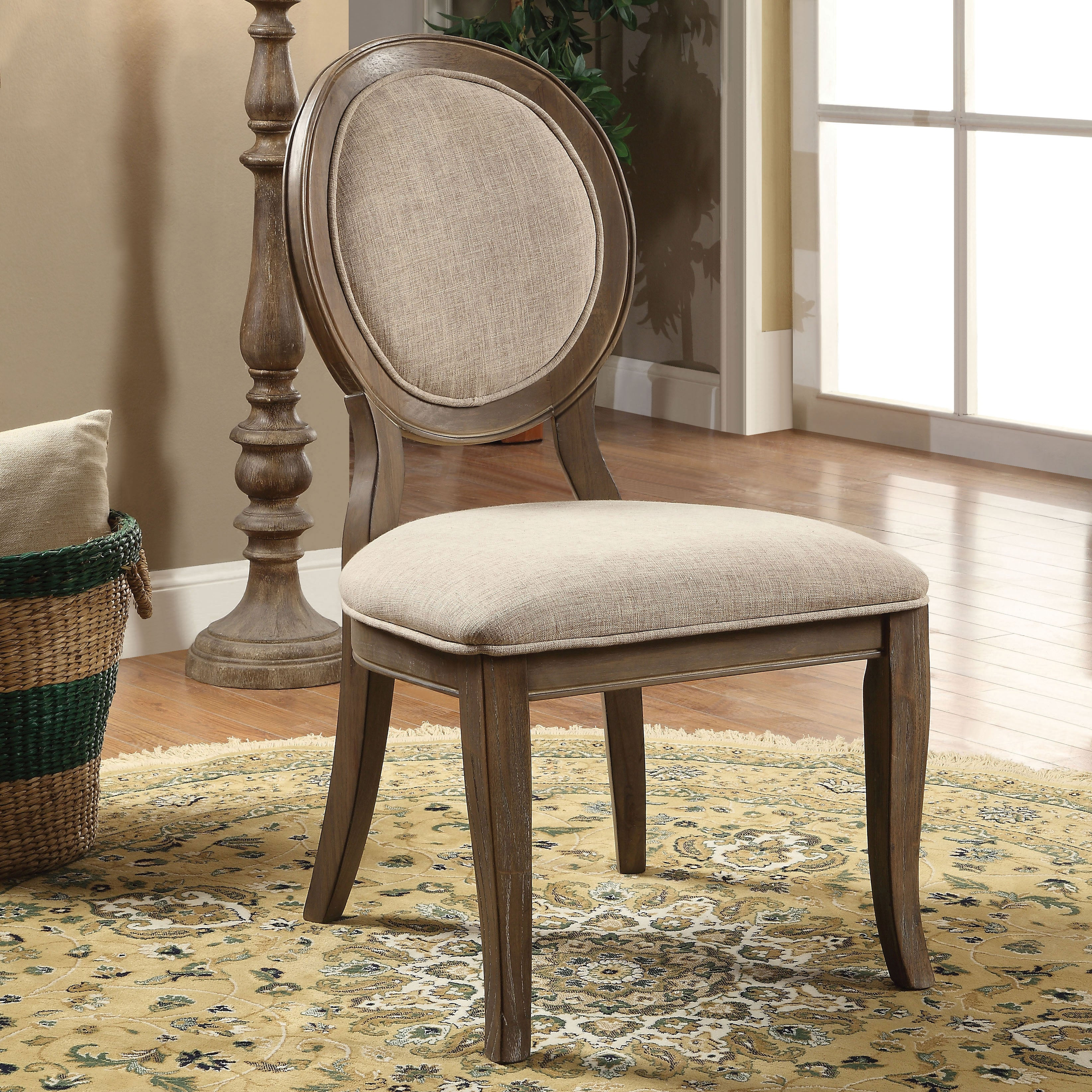 detailed look 8ef6b c3673 The Gray Barn Louland Falls Traditional Dining Chairs (Set of 2)