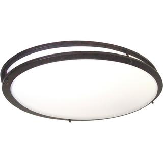 "Nuvo Glamour 2 Light 32"" Oval Flush"