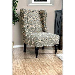 Relana Contemporary Wingback Accent Chair by FOA