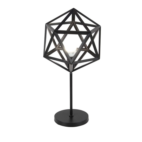 Studio 350 Metal Accent Lamp 12 inches wide, 26 inches high