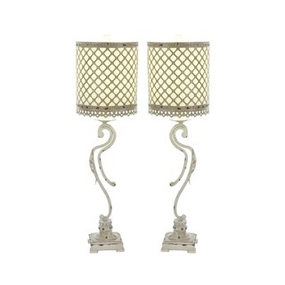 Studio 350 Set of 2, Metal Table Lamp 33 inches high