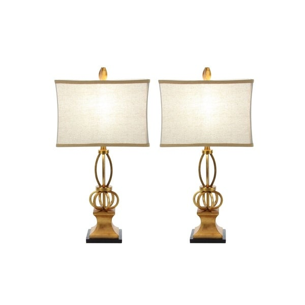 Studio 350 Set of 2, Metal PS Table Lamp 26 inches high