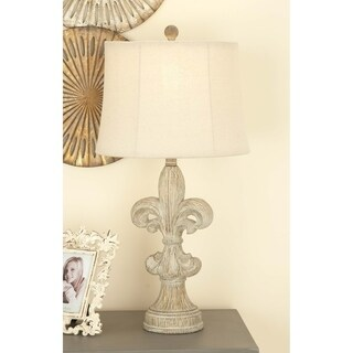 Studio 350 Set of 2, Resin Table Lamp 28 inches high