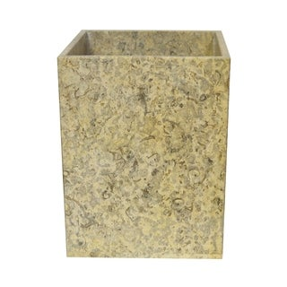 Marble Wastebasket, Fossil