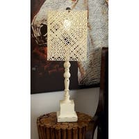 Studio 350 Set of 2, Wood Metal Table Lamp 29 inches high