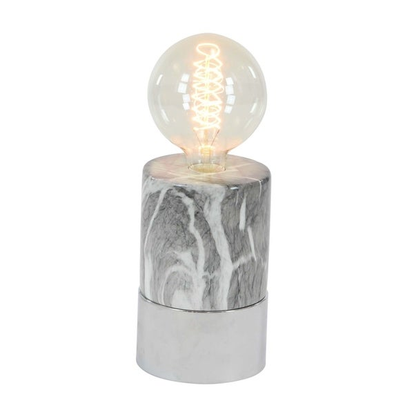Studio 350 Ceramic Lamp W Bulb 5 inches wide, 14 inches high