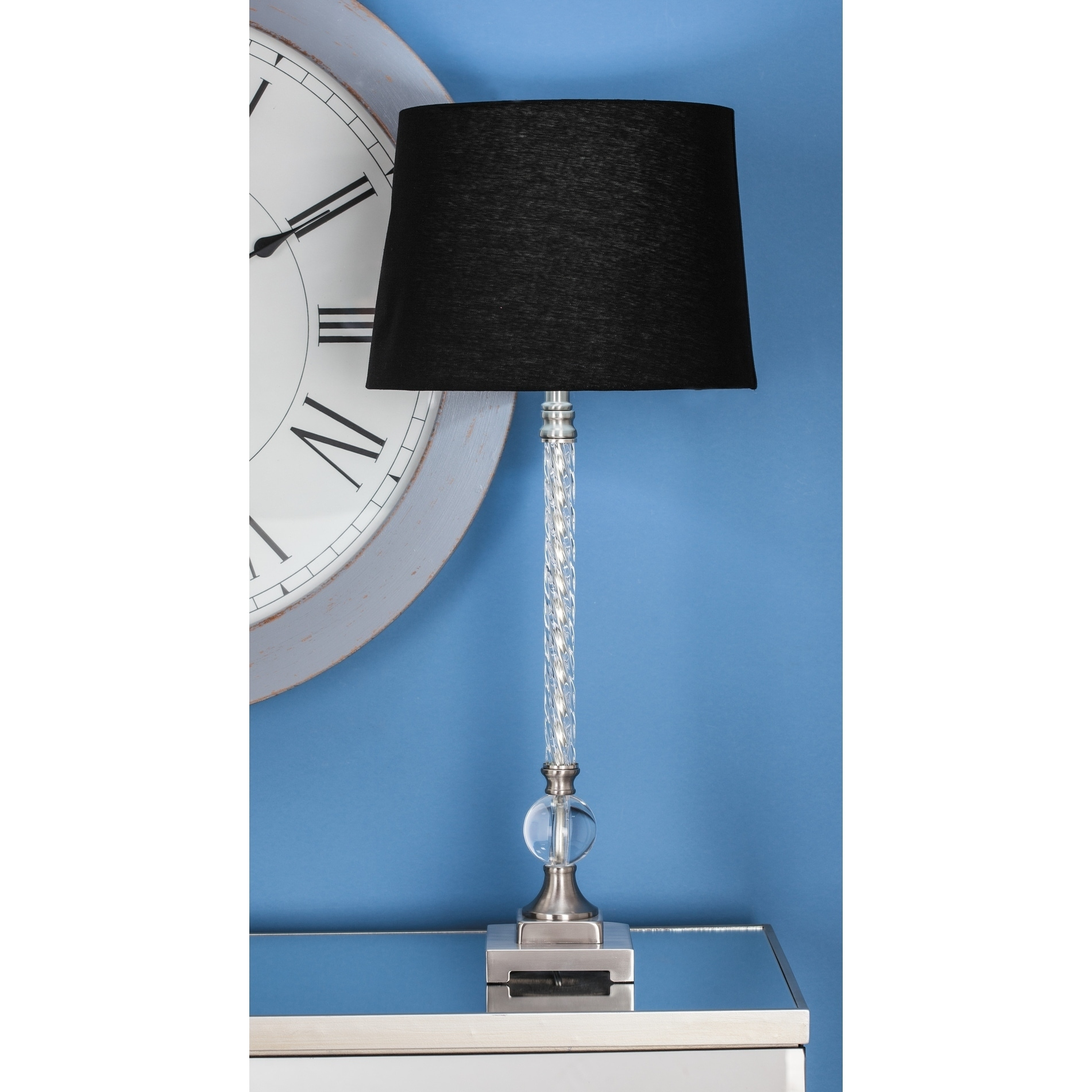 Studio 350 Set of 2, Metal Acrylic Table Lamp 31 inches h...