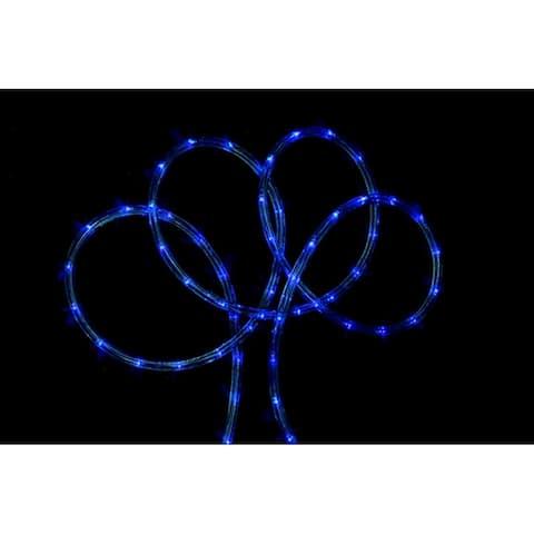 18' Blue Indoor/Outdoor Christmas Rope Lights