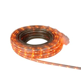 30' Orange LED Indoor/Outdoor Christmas Linear Tape Lighting