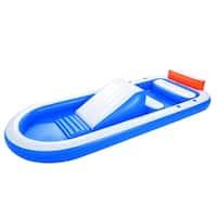 Bestway Dual Pool and Inflatable Pool with Slide