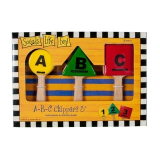 Westco ABC Clappers Musical Instrument Toy