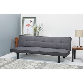 Hudson Dark Gray Convertible Sofa Bed