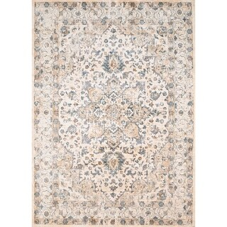Westfield Home Royale Serilda Bone Area Rug - 5'3 x 7'10