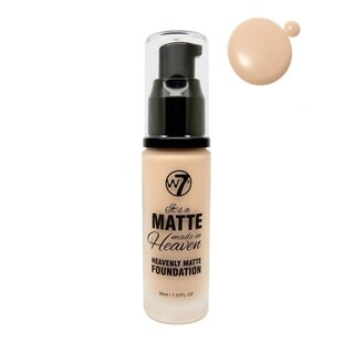 W7 It's A Matte Made In Heaven Foundation Natural Beige 1.05oz / 30ml
