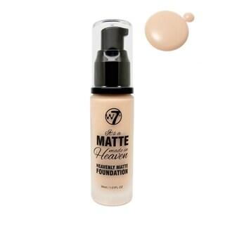 W7 It's A Matte Made In Heaven Foundation Sand Beige 1.05oz / 30ml