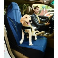 Pet Life Open Road Mess Free Single Seated Safety Car Seat Cover Protector For Dog