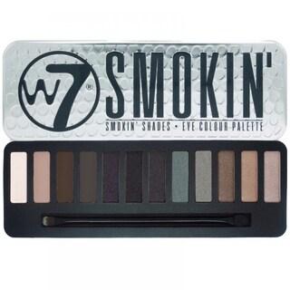 W7 Smokin Shades Eye Colour Palette Tin