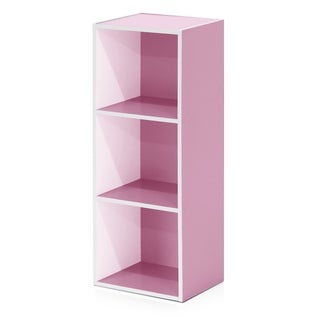 Furinno Pasir 3-Tier Open Shelf Bookcase