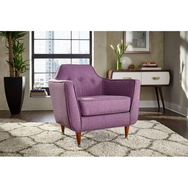 Peachy Shop Angelo Home Allen Accent Chair On Sale Free Machost Co Dining Chair Design Ideas Machostcouk