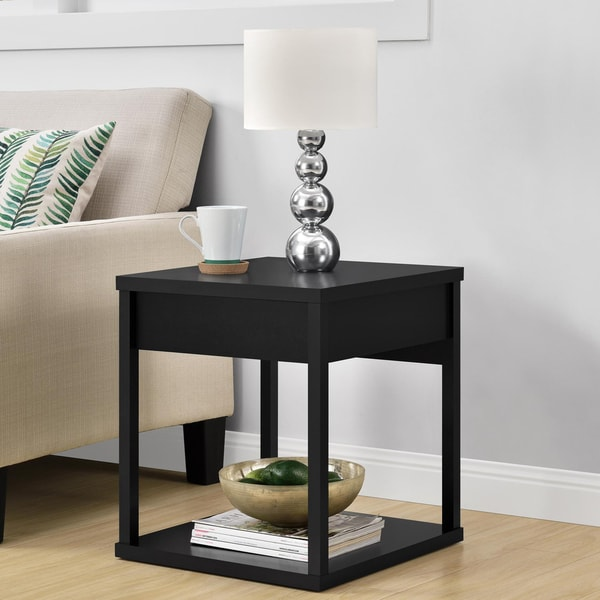 Parsons End Table With Drawer: Shop Ameriwood Home Parsons End Table With Drawer