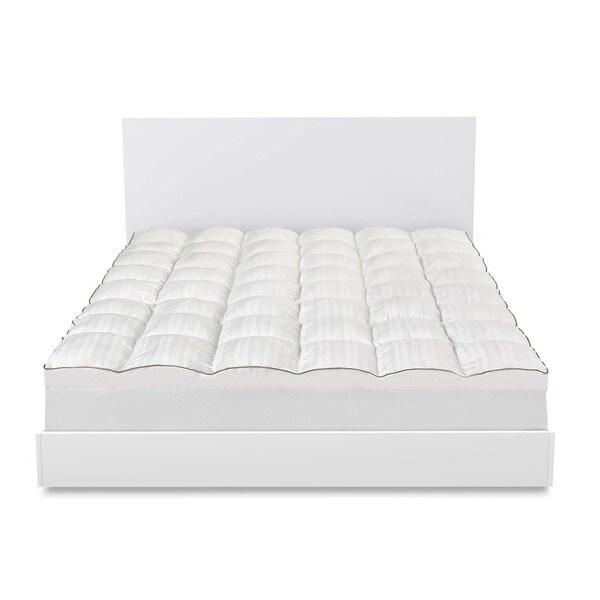 Beautyrest DACRON Memorelle Memory Fiber Mattress Topper - White