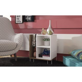 Manhattan Comfort Boden Bookcase 2.0 with 4 Shelves