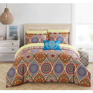 Chic Home Tage 8-Piece Reversible Paisley Print Bed in a Bag