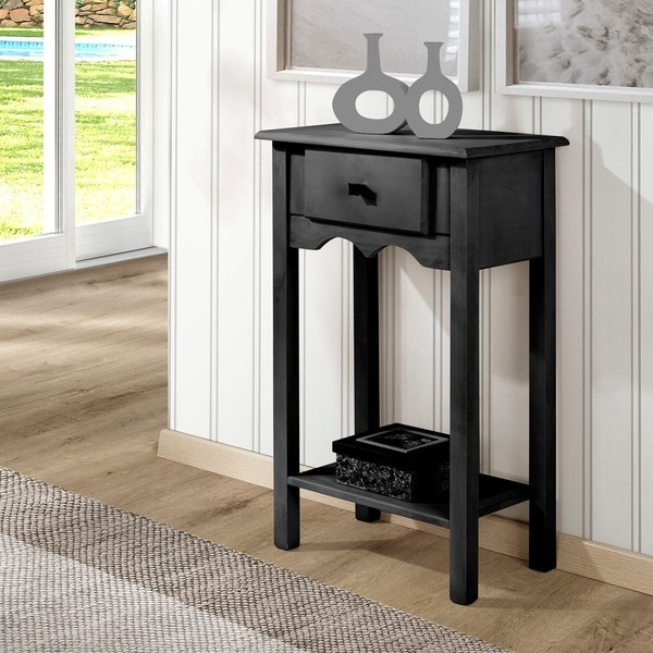Shop Manhattan Comfort Jay 35 Inch Tall End Table With 1 Full
