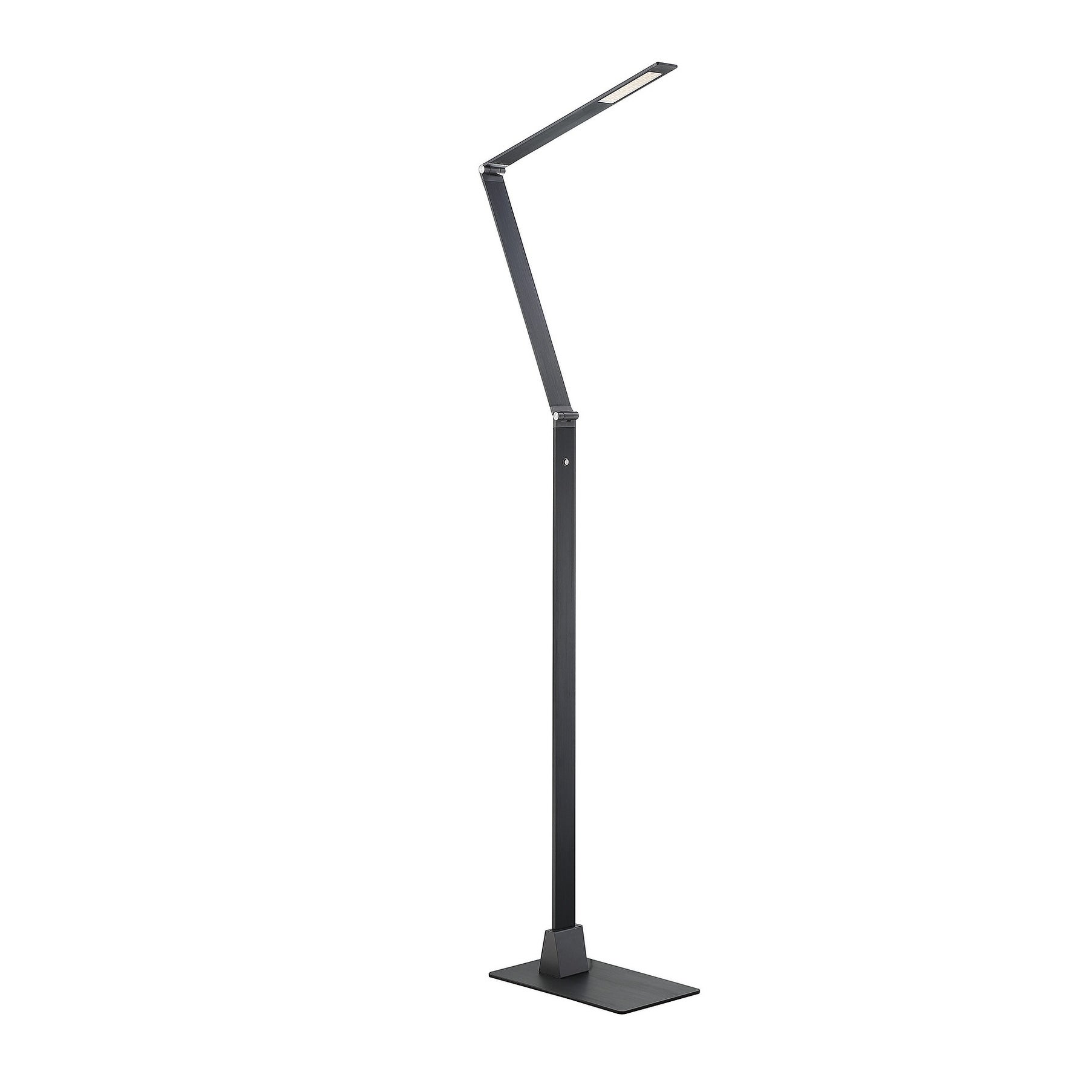 Fusion Z LED Floor Lamp with Dimmer Blue Gray