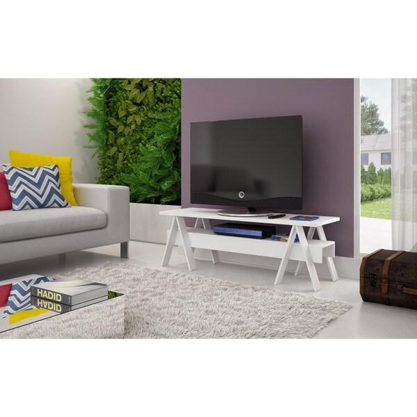 Manhattan Comfort Messina Single Shelf Tv Stand