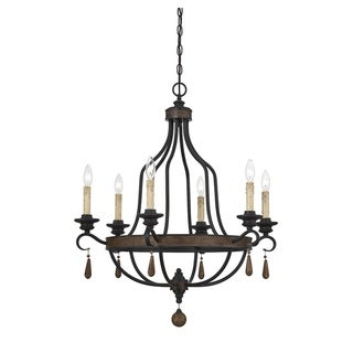 Kelsey 6 Light Chandelier Durango