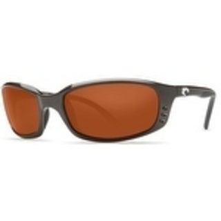 Costa Del Mar BRINE Gunmetal / Copper 580P Polarized Sunglasses BR-22-OCP