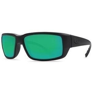 Costa Del Mar Fantail Polarized Blackout Men Sunglasses TF-01-OGMP