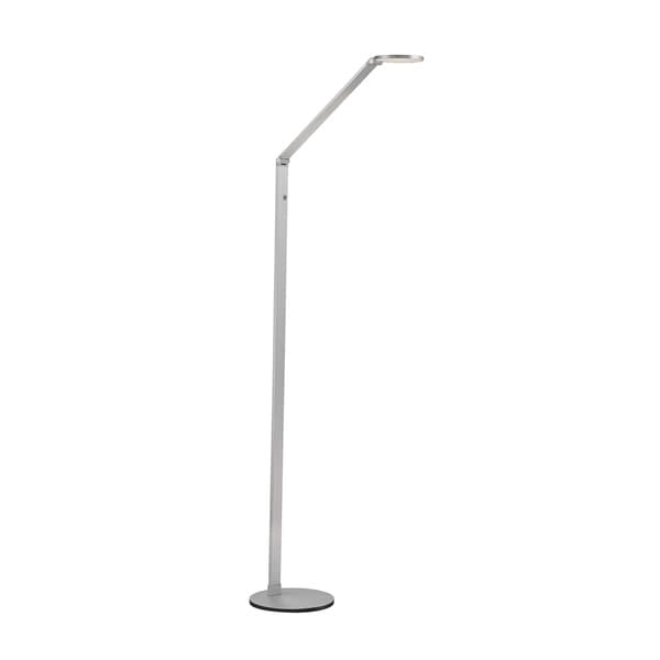 Savoy House Fusion LED Natural Aluminum Floor Lamp with Dimmer