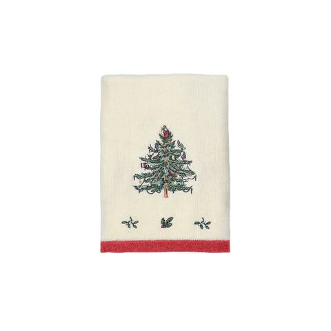 Spode Tree Red Hand Towel
