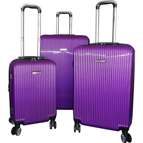 Karriage-Mate 3-Piece Hardside Expandable Spinner Luggage Set