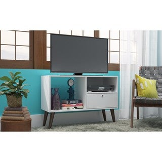 Manhattan Comfort Bromma 35.43-inch 1-drawer 2-shelf TV Stand